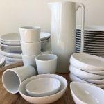 plates bowls trays