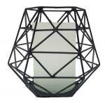 Waxine Grafisch Zwart 19x20cm