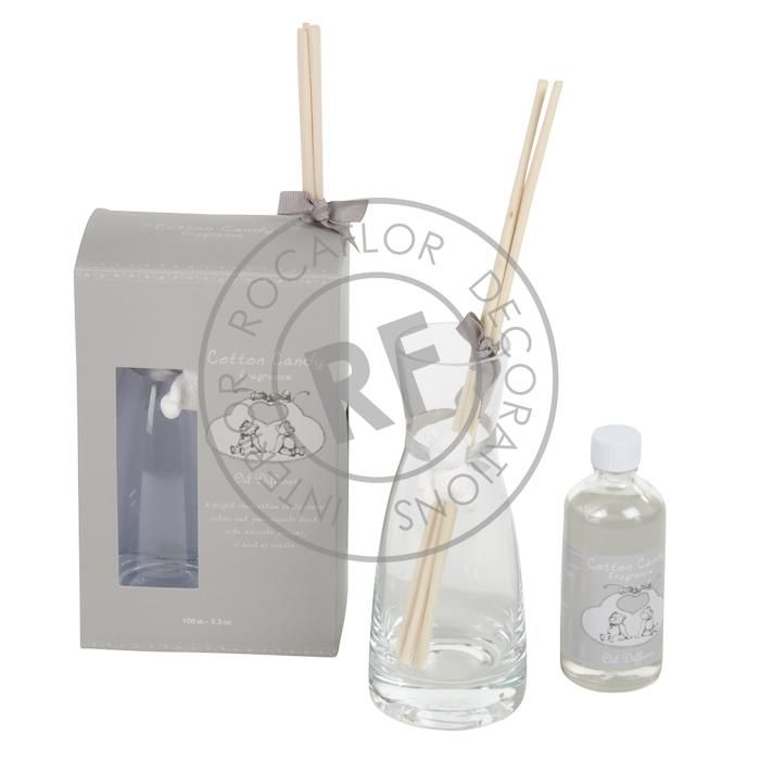 cotton candy giftset oil 100ml diffuser