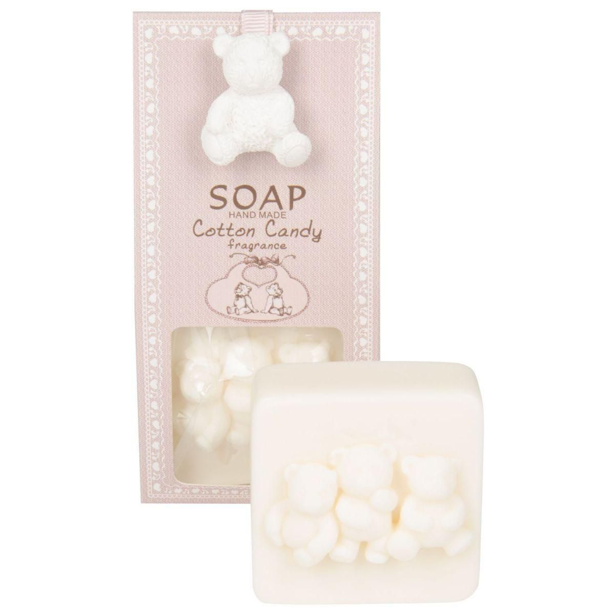 cotton candy soap 80g m linen oil oil olive fragance of rose