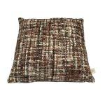Cushion acrylic brown tones 50x50cm