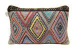 Cushion cotton colorful diamond motif 35x55cm