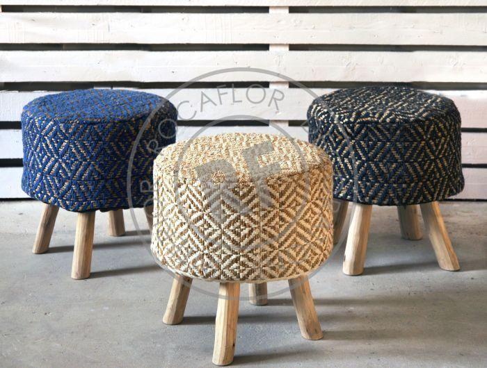 cushion estral 45x45 blue