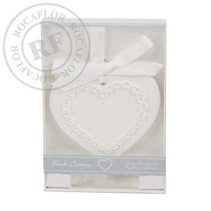 fresh cotton scented ornament in giftbox
