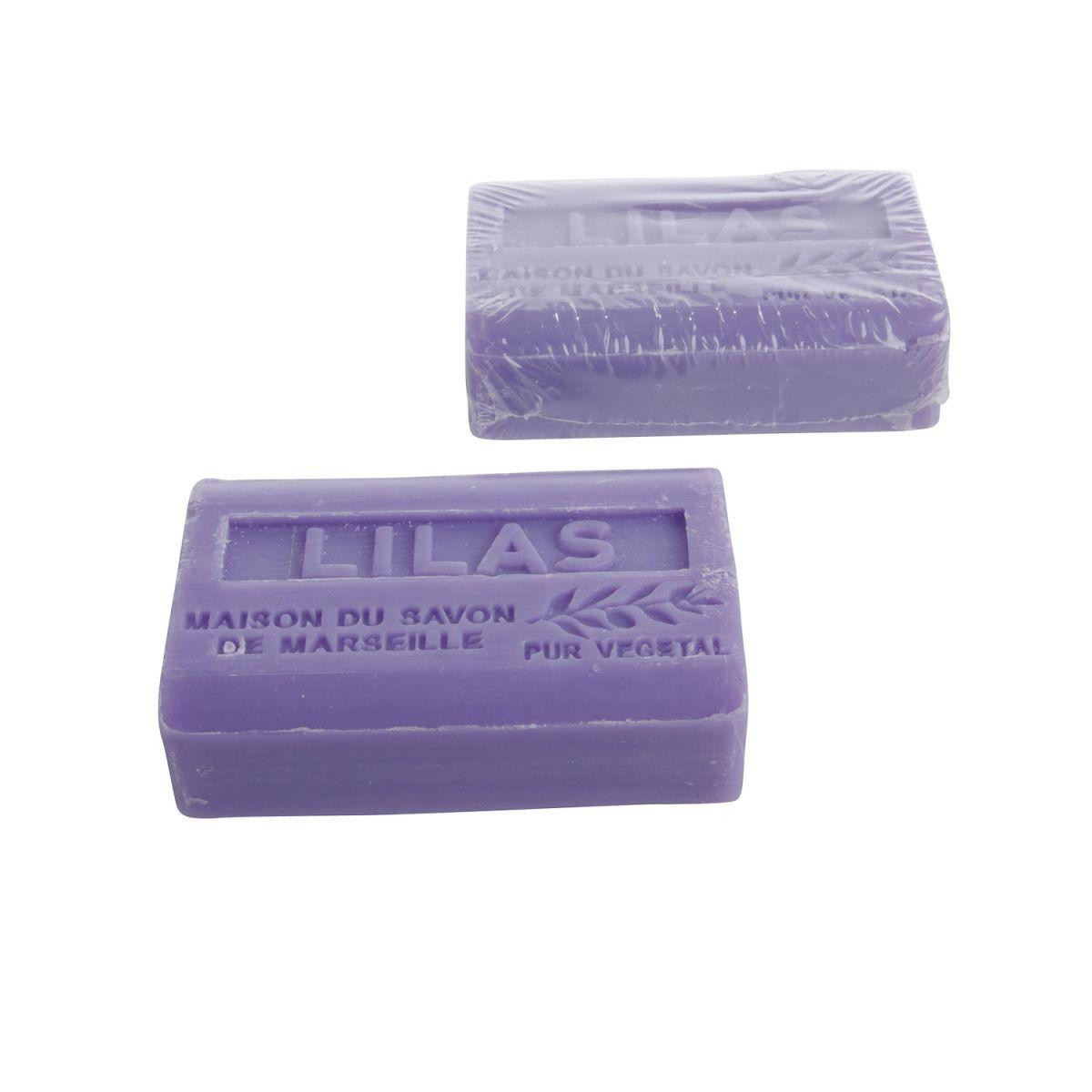 handzeep marseille 125 gr lilas box12