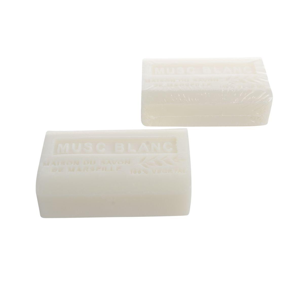 handzeep marseille 125 gr musc blanc box12