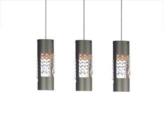 hanging lamp alu crystals3