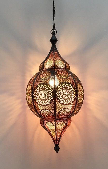 hanging lamp oriental blackcopper m hg 48 22cm