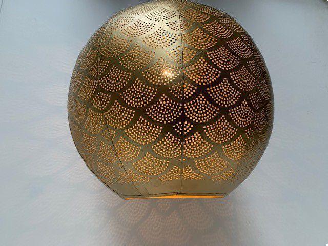 hanglamp bol goud hg 368 38cm