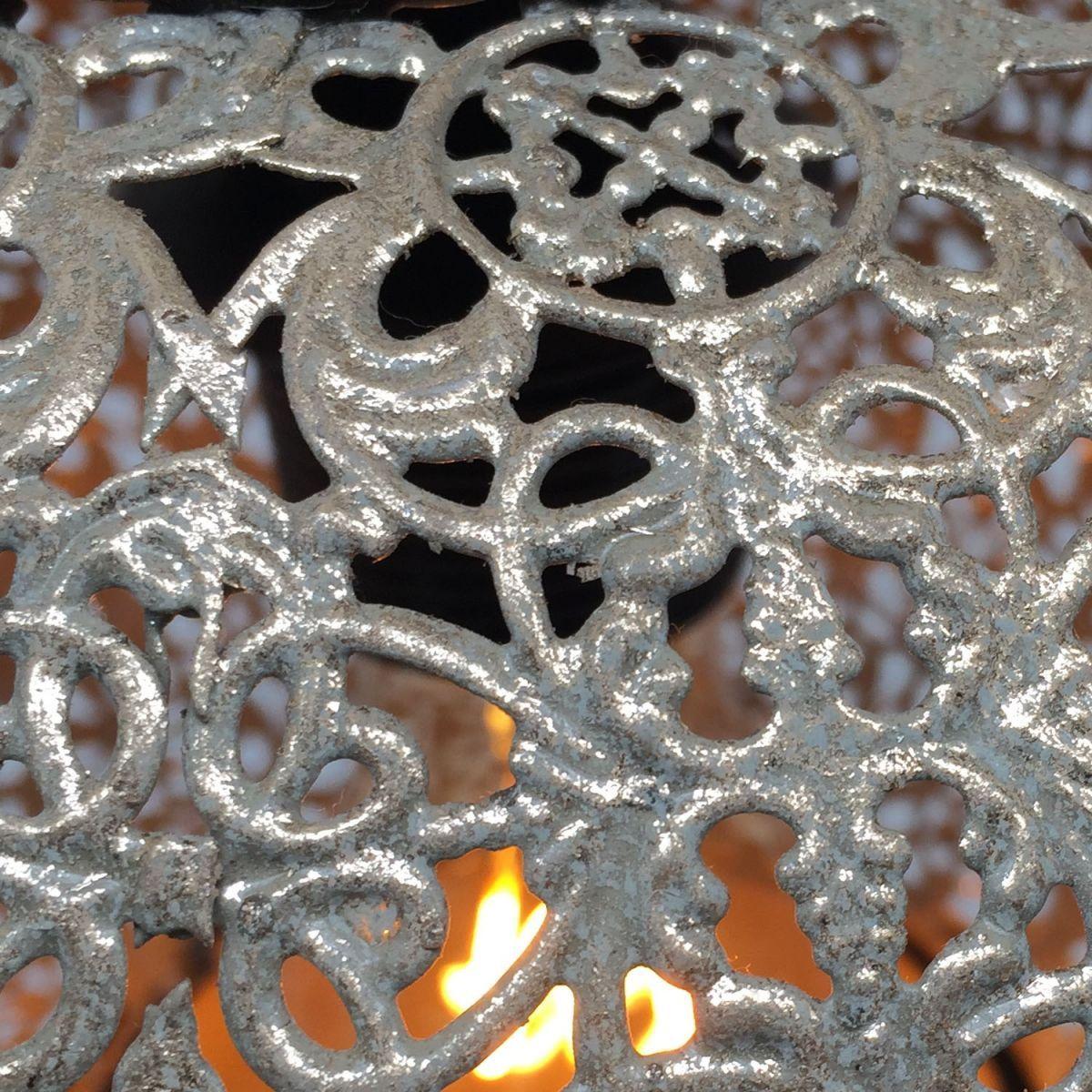hanglamp filigrain orientaals antiek goud 25 hg 25cm