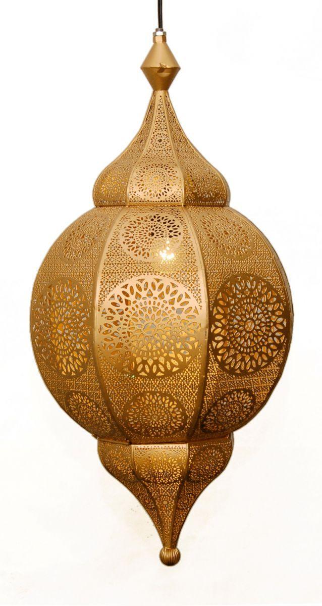 hanglamp orientaals l goudgoud hg 66 32 cm