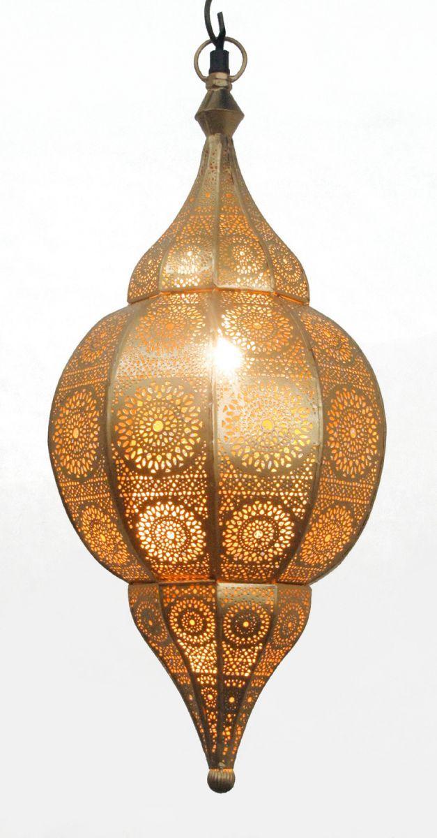 hanglamp orientaals m goudgoud hg 48 22 cm