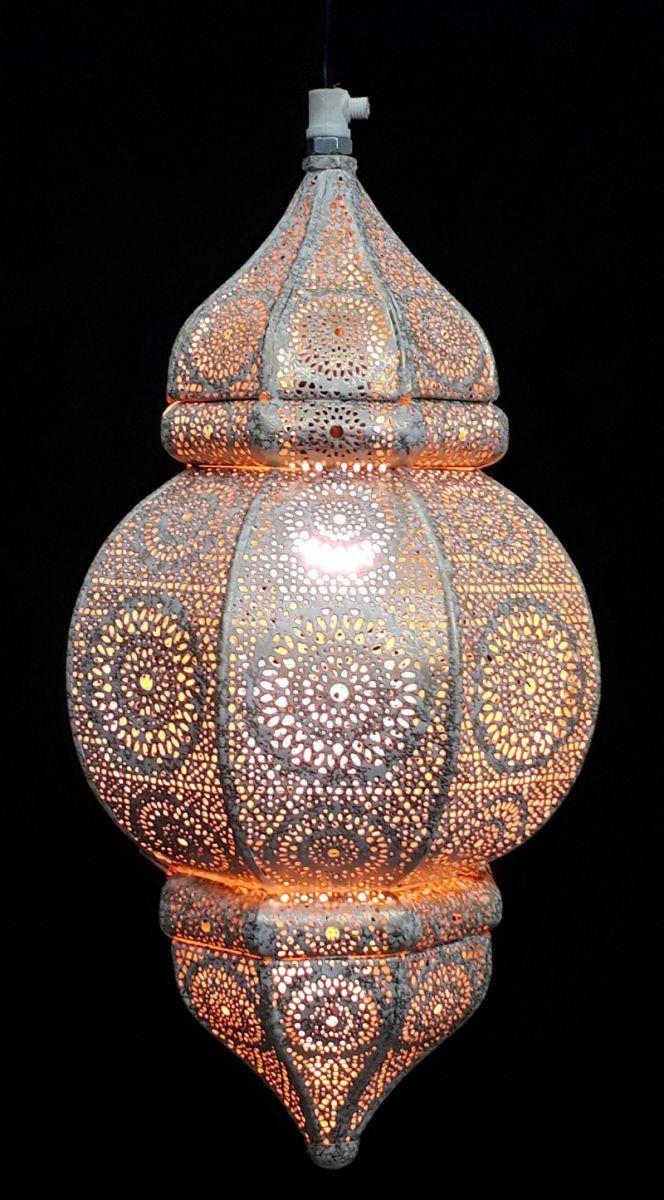 hanglamp orientaals s whitewashgoud hg 33 19 cm