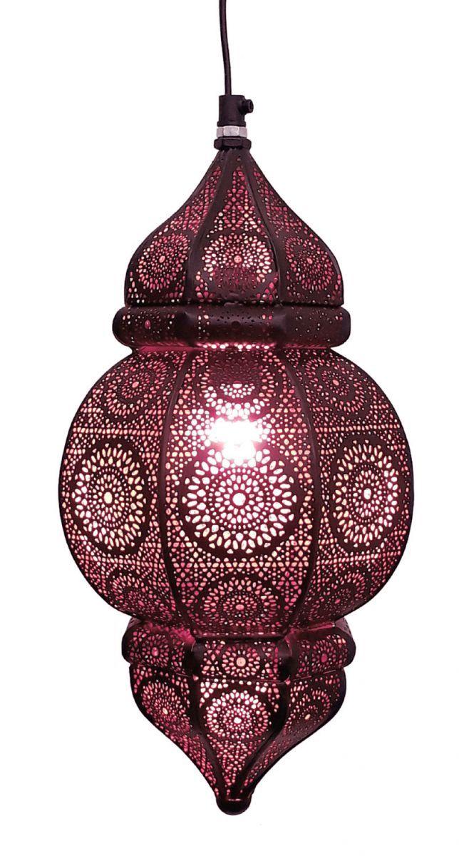 hanglamp orientaals s zwartkoper hg 33 19 cm