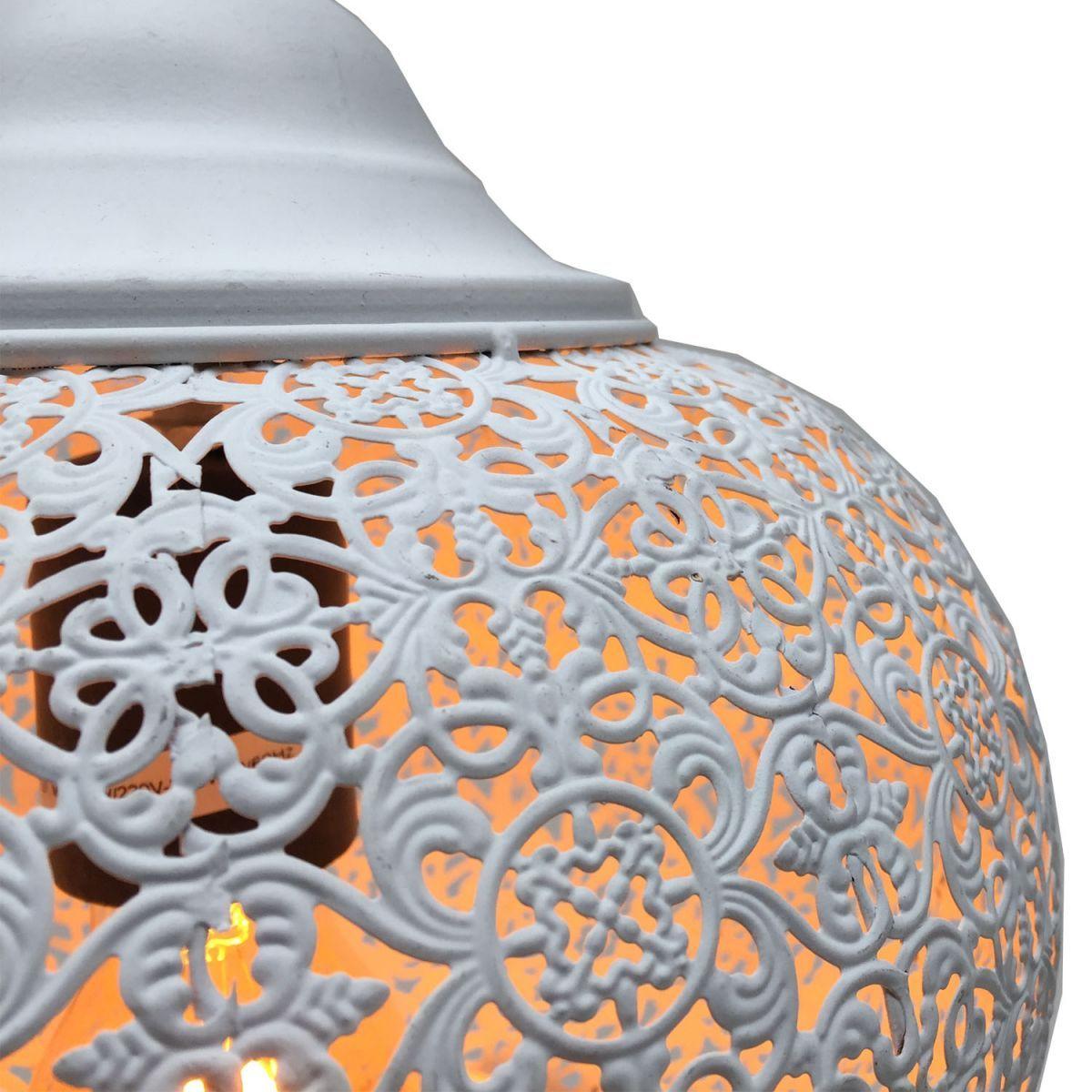hanglamp orientaals wit 25 hg 25cm