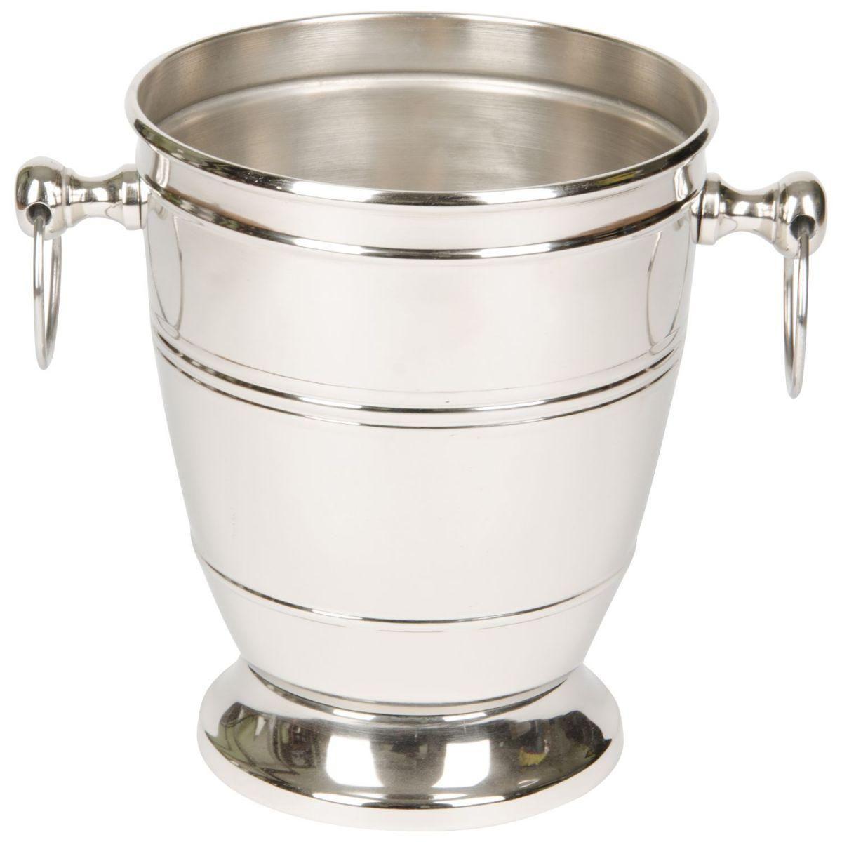 ice bucket nickel plated hg 18 16 cm