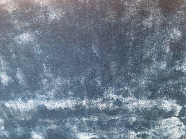 kleed aqua viscose rond 250 cm