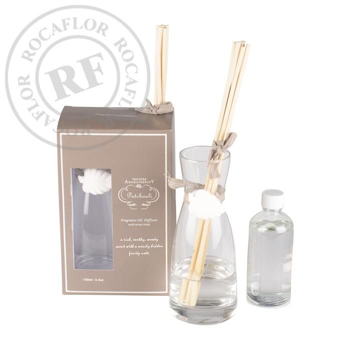 patchouli gift set oil 100ml diffuser
