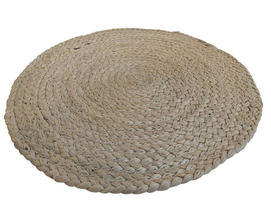 placemat jute ivoorwit ecru 38cm