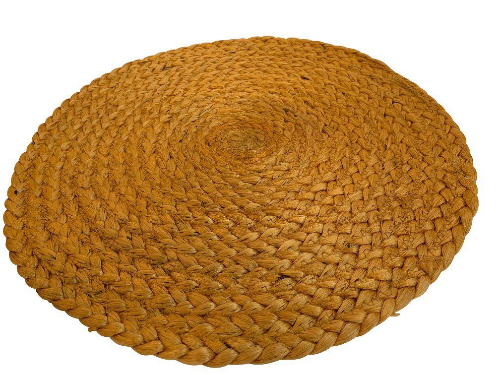placemat jute ocher yellow 38 cm