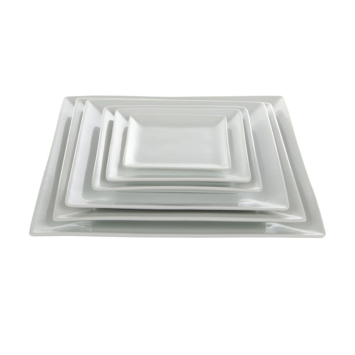 plate plain 24 x 24 porcelainbox6