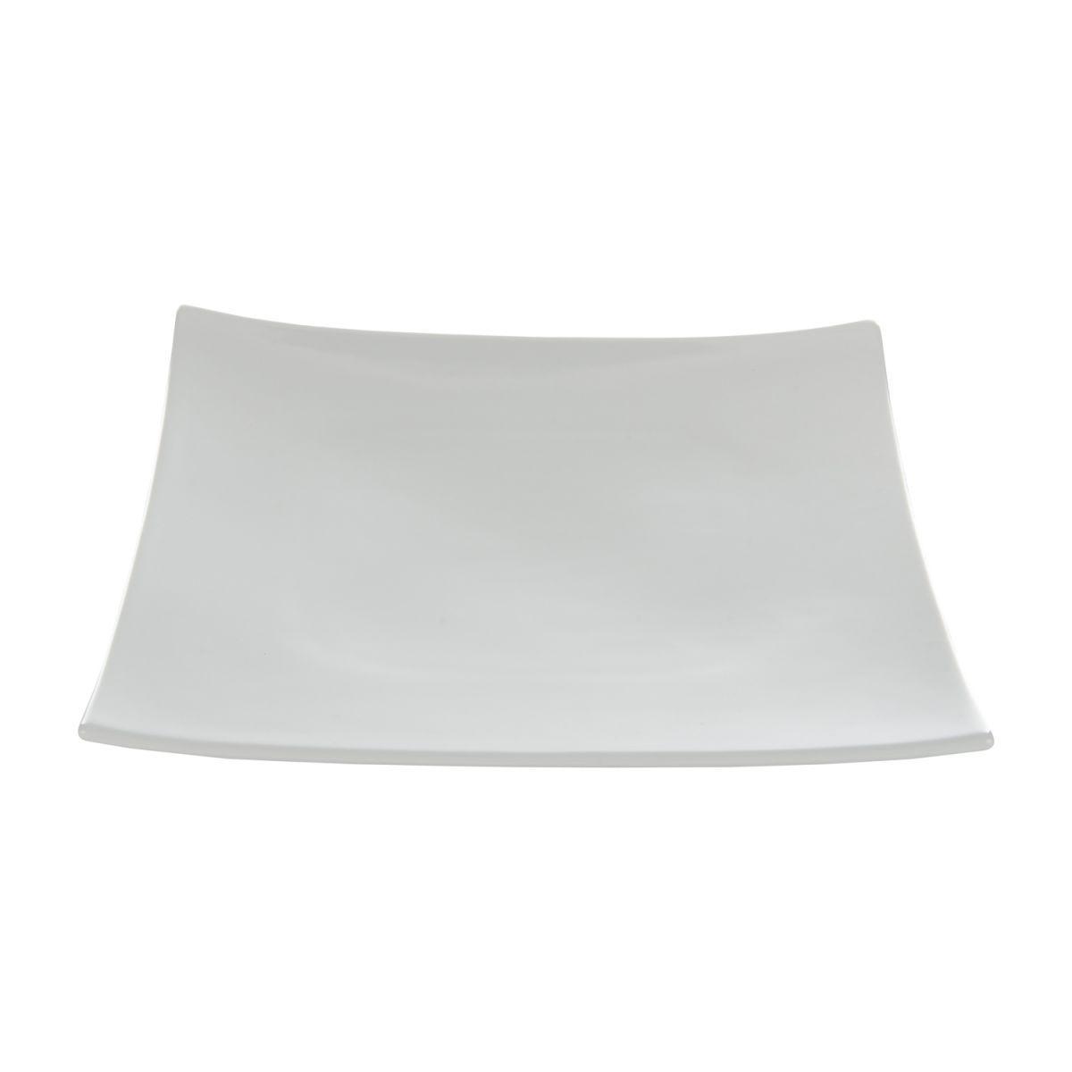 plate plain square 20 x 20 cm box6