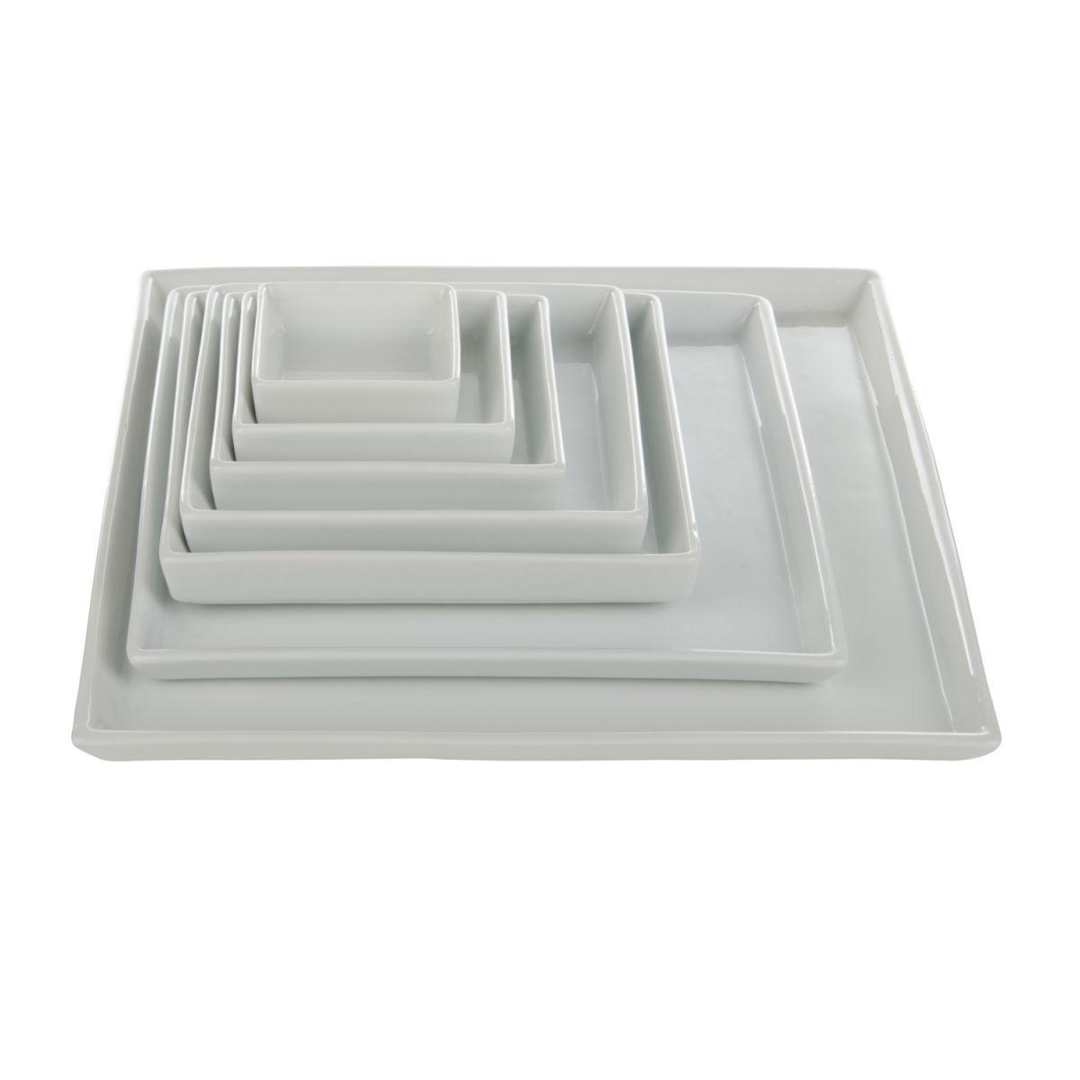 plate square border 6x6cm box12