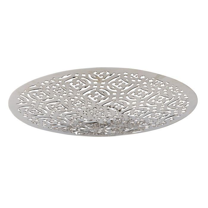 bord uitgesneden metaal nikkel 205 cm