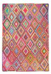 Rug Ethnic Multi Recycled Cotton190x290cm
