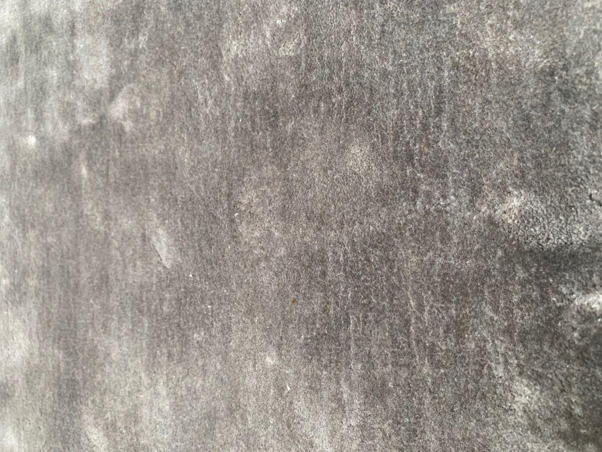 rug handwoven viscose round 300cm silver grey