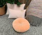 Rug round ø250 cm New Zealand Wool / Polyester Grey Antracite