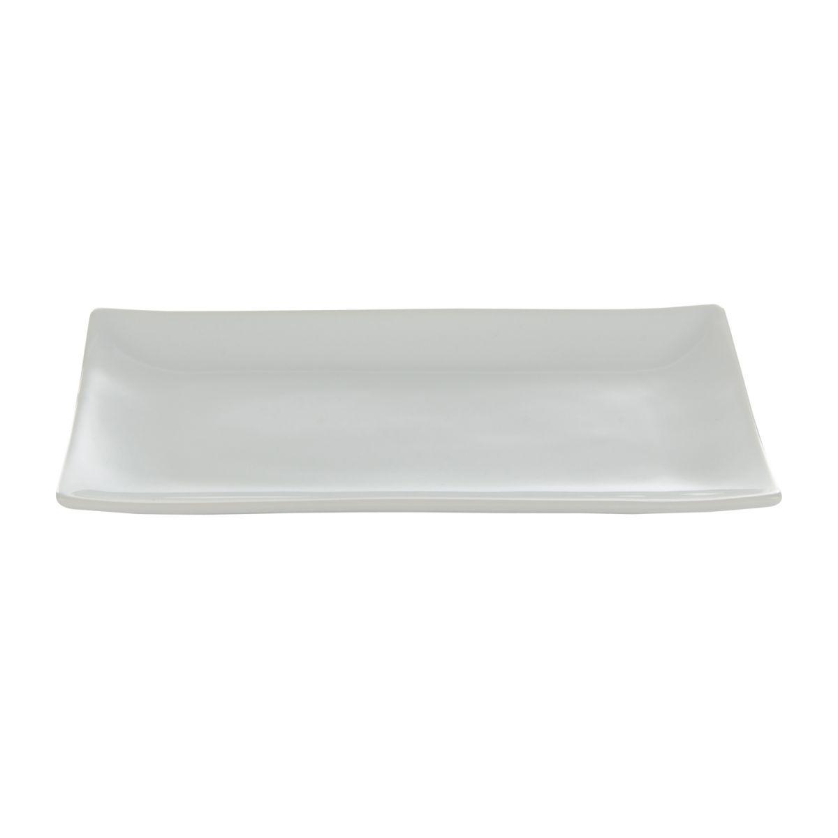 bord porselein wit rechthoekig 28x15cmbox 6