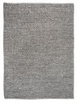Vloerkleed wol Baker 160x230 grijs