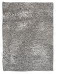 Vloerkleed wol Baker 190x290 grijs